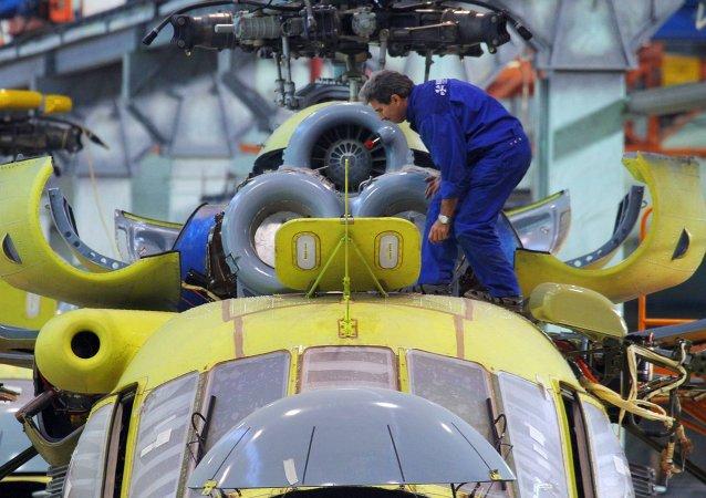 Construcción de un helicóptero