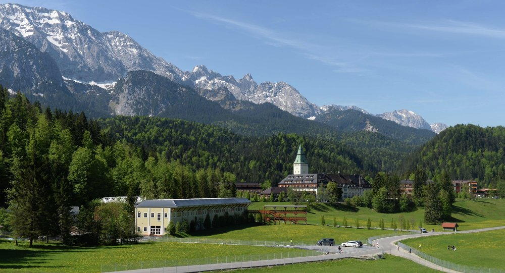 Castillo Schloss Elmau donde se celebrará la Cumbre del G7
