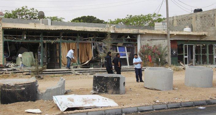 Situación en la ciudad de Mistrata en Libia