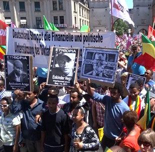 Múnich protesta contra la cumbre del G7