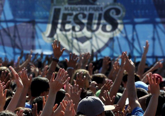 La Marcha por Jesús reúne en Sao Paulo a miles de cristianos ultraconservadores