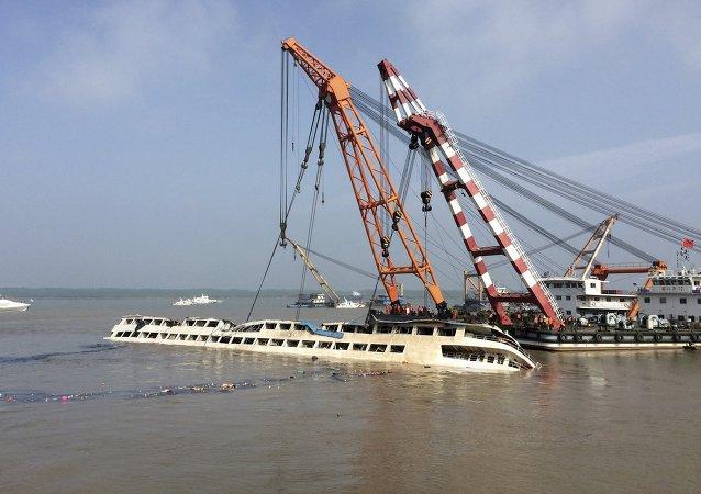 Operación de rescate del barco Estrella del Oriente