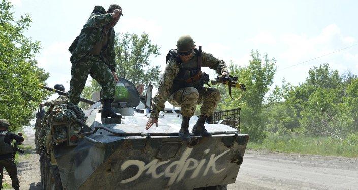 Militares de Ucrania