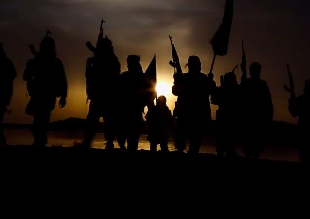 Militantes del grupo terrorista Daesh