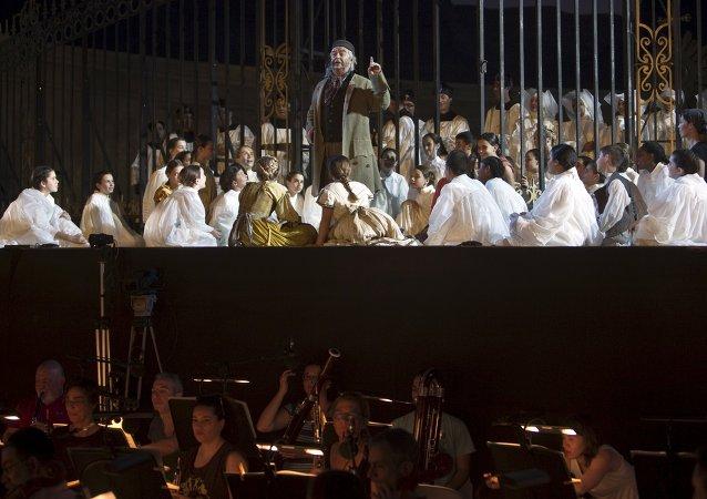 La fortaleza israelí de Masada acoge la quinta edición del Festival de Ópera al aire libre