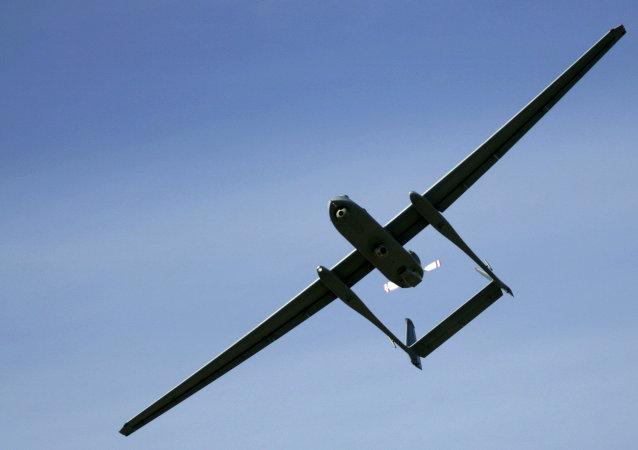 Un avión no tripulado (imagen referencial)