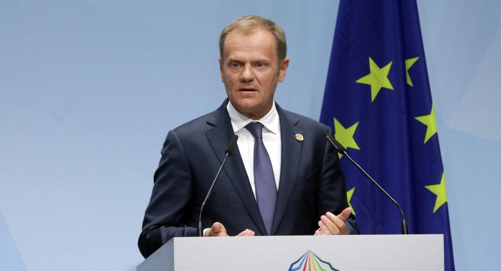 Tusk dice que el g7 quiere ver a rusia en su grupo for Presidente del consejo europeo