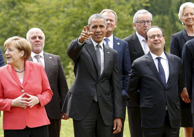 Líderes de los países del G7