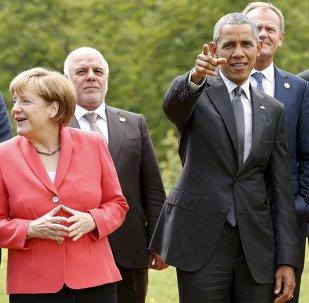 Líderes de los países participantes de la cumbre del G7 en Alemania