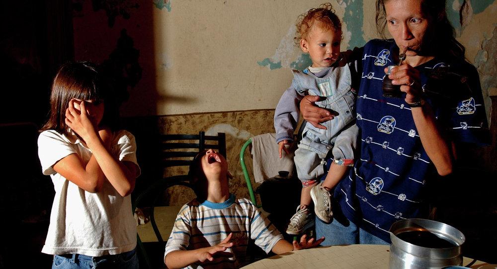 La familia pobre en Buenos Aires