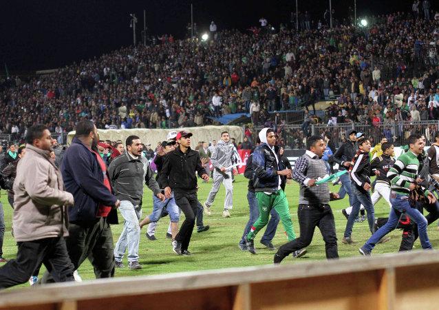 Disturbios en el estadio de Port Said, el 1 de febrero de 2012
