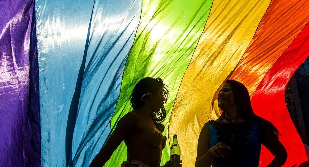La bandera del colectivo gay