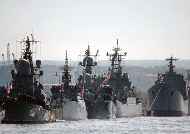 Flota rusa del Mar Negro