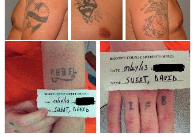 Tattoos de Richard Matt y David Sweat