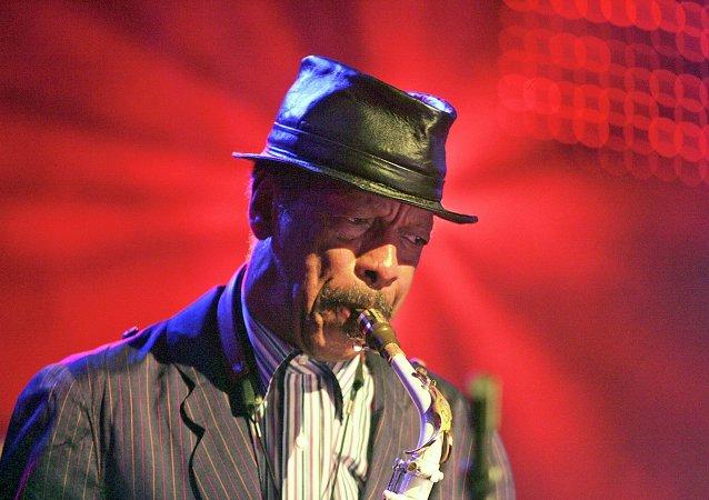 El saxofonista Ornette Coleman