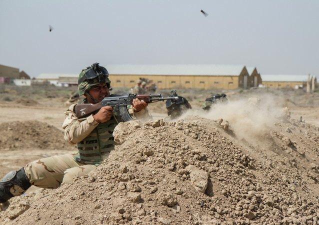 Un soldado iraquí (archivo)