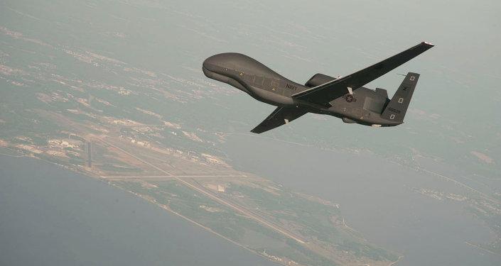 Avión no tripulado de EEUU RQ-4 Global Hawk (archivo)
