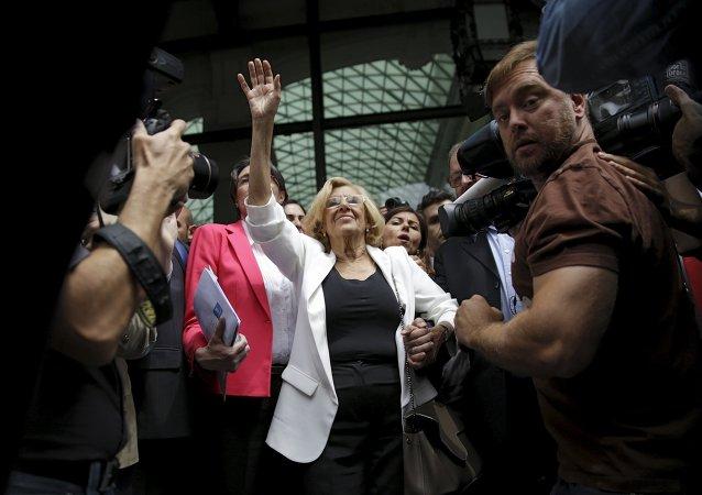 Manuela Carmena, alcaldesa de Madrid