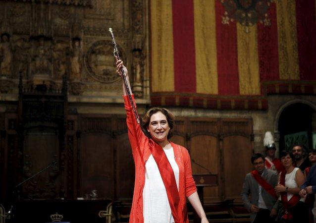 Ada Colau, alcaldesa de Barcelona (archivo)