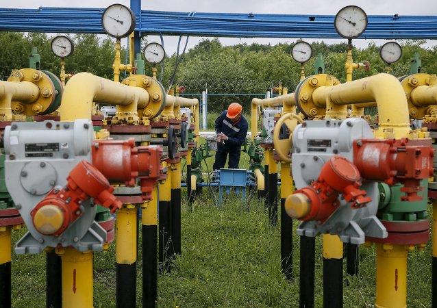 Tuberías de gas en Ucrania