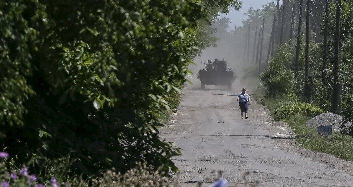 Donbás está al borde de una gran guerra, dice representante de Donetsk