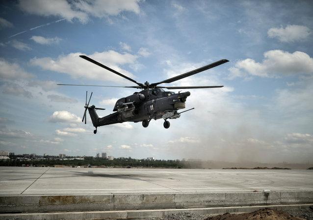 Helicóptero Mi-28 (archivo)
