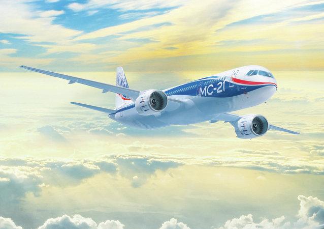 Avión comercial ruso MS-21