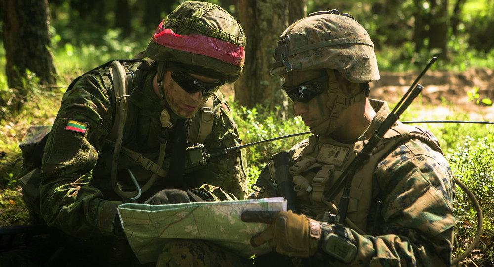 Fuerzas de la OTAN en Lituania (archivo)