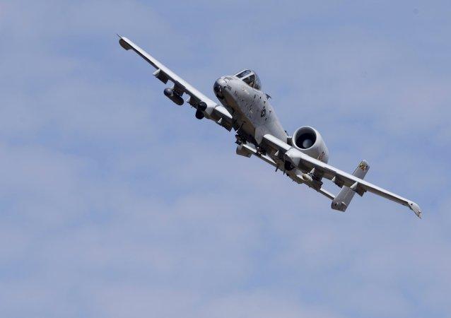 Un avión A-10