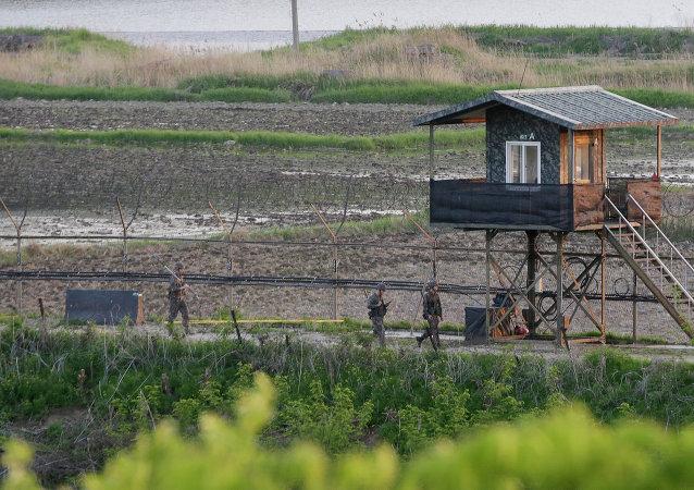 Zona Desmilitarizada (DMZ) entre Corea del Sur y Corea del Norte
