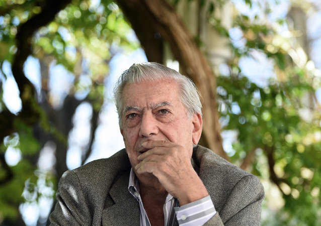 Mario Vargas Llosa, el escritor hispano-peruano