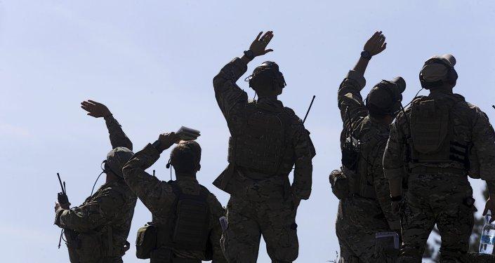 Soldados estadounidenses durante las maniobras de la OTAN (archivo)