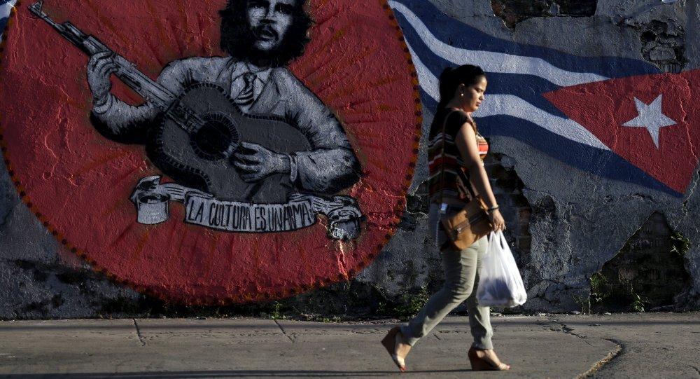 Grafiti en Cuba (archivo)