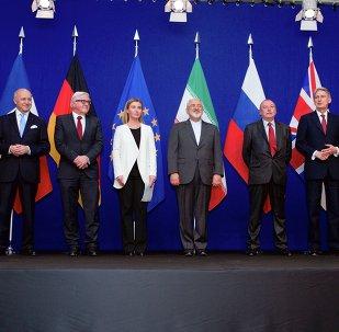 Representantes del Grupo 5+1, de la UE y de Irán en Suiza