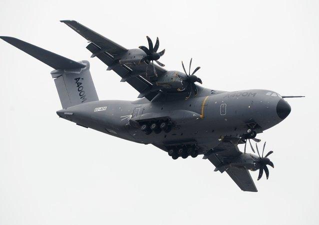 Avión de transporte militar A400M (archivo)