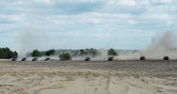Militares de la OTAN en Polonia