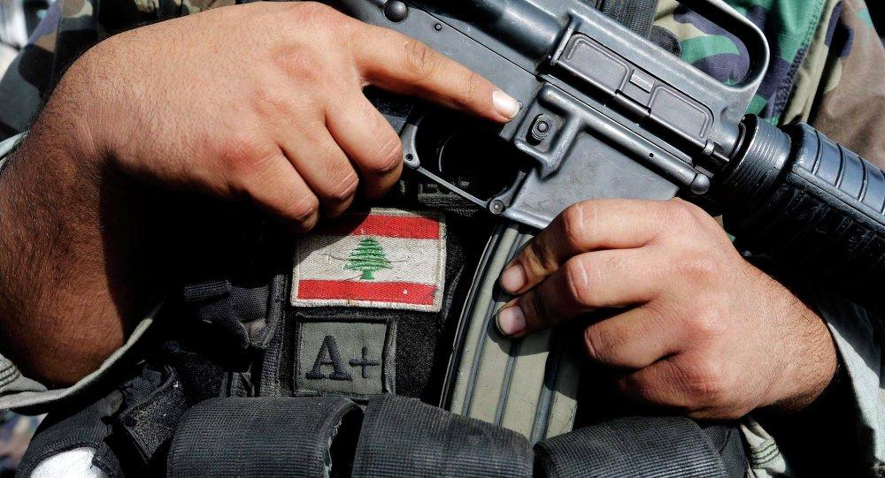 Soldado del ejército de Líbano (archivo)