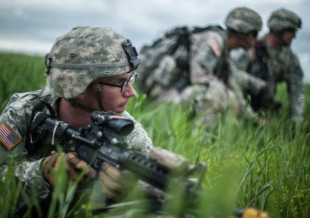 Soldados estadounidenses en Europa