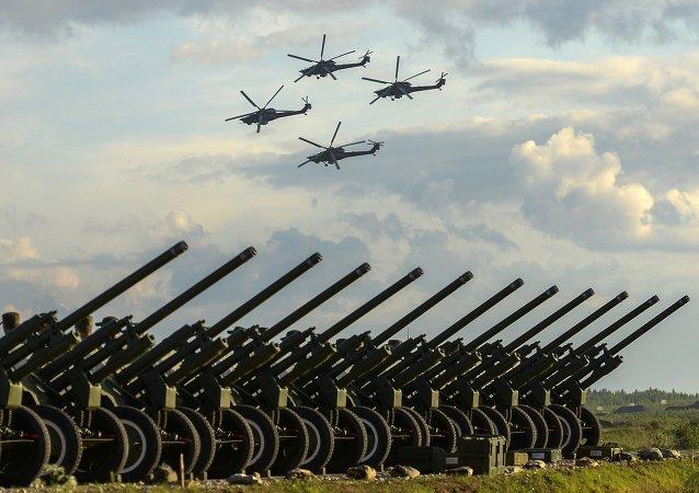 Tropas en el este de Rusia recibirán más de 700 piezas de armamento en 2016