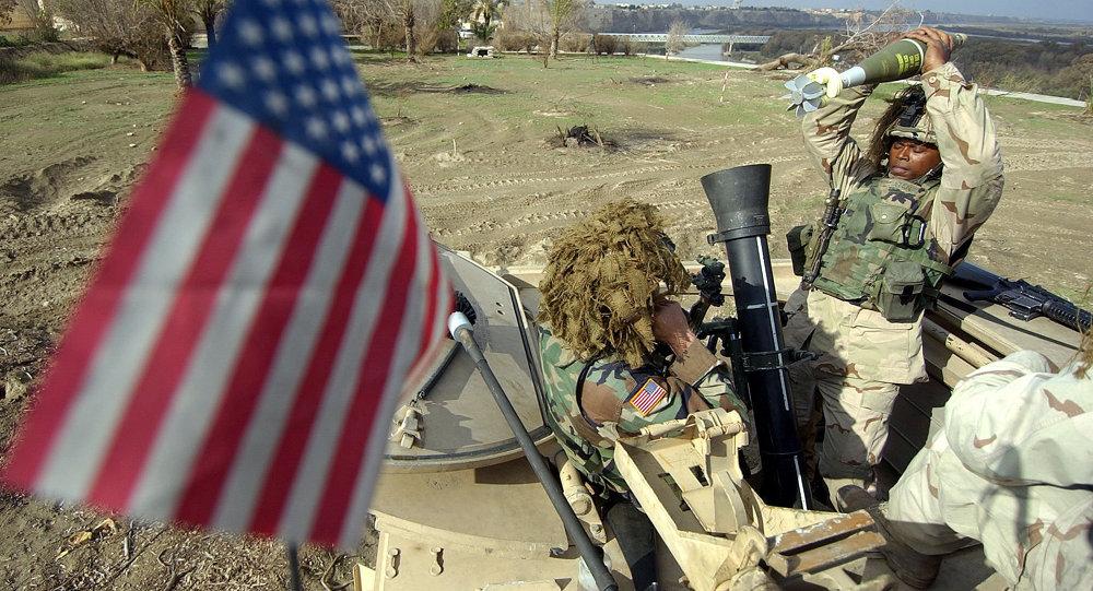 Militar estadounidense en Irak