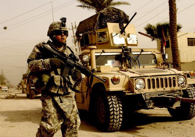 Soldado estadounidense en Irak (archivo)