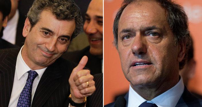 Florencio Randazzo y Daniel Scioli