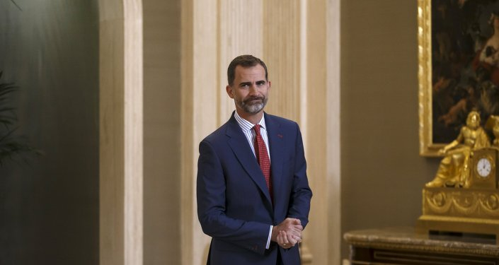 El rey de España Felipe VI