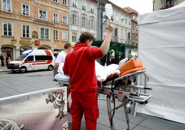 Camioneta arrolla a multitud en Austria: tres muertos y más de 30 heridos