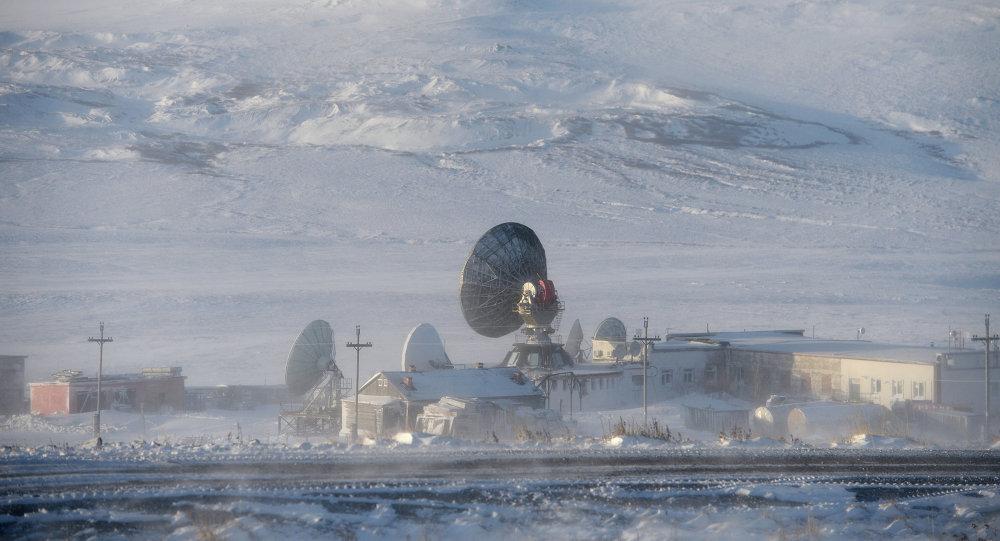 Radar en una ciudad rusa Anádyr