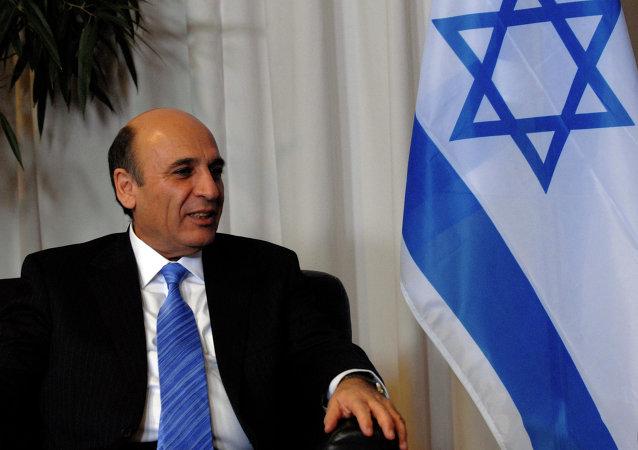 Shaul Mofaz, exjefe del Estado Mayor israelí y ministro de Defensa de Israel