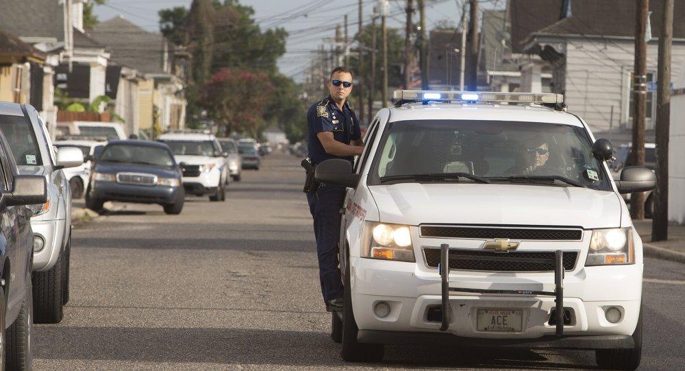 Policía en EEUU