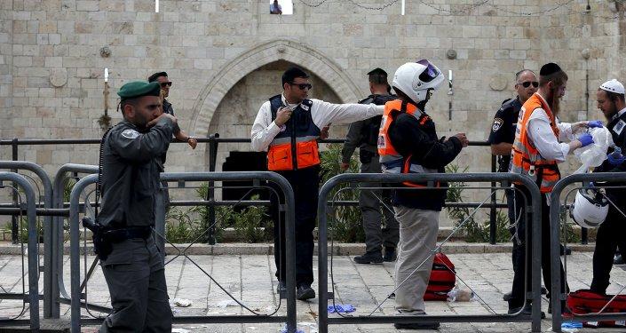 Policía israelí