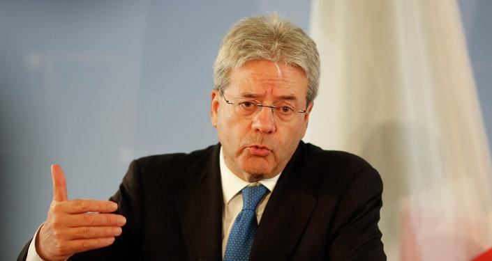 El primer ministro italiano, Paolo Gentiloni