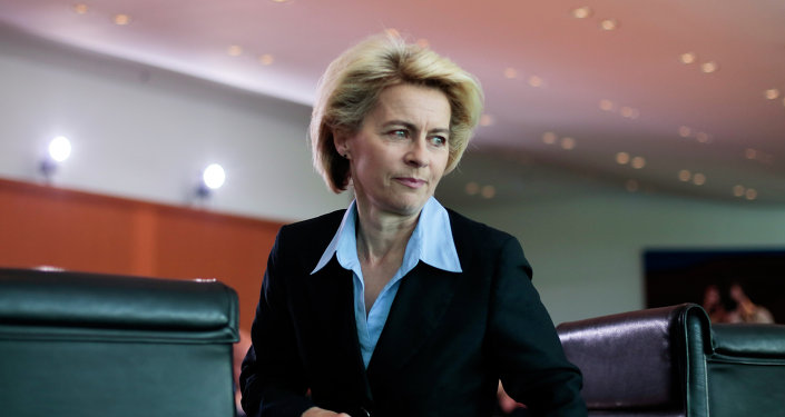 Ursula von der Leyen, ministra de Defensa de Alemania